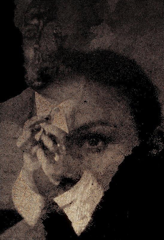 Sick in the earth self-portrait